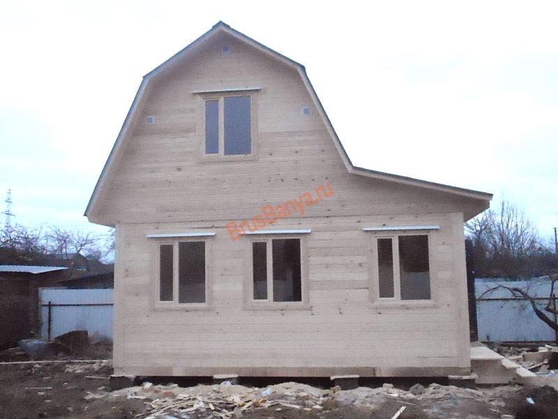 Дома из бруса  СК Вологодские дома