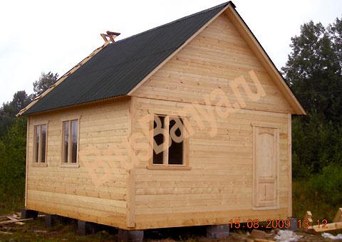 Строительство деревянных домиков своими руками
