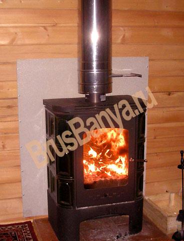 Дома из бруса. Огонь больше не проблема! Каким образом можно спасти от огня деревянные дома