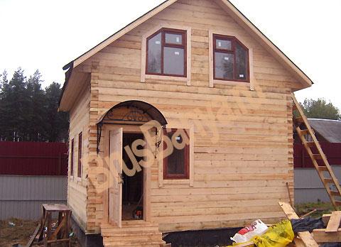 Как построить дом из бруса дешево и быстро