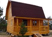 Построен дом из бруса 6х6